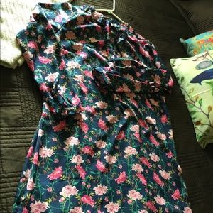 Old Navy Dresses - Floral, lightweight dress in a tall length.  NWOT